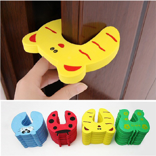 5 x Baby Child Kids Animal Door Stopper Jammer Safety Finger Protector Guard & x Baby Child Kids Animal Door Stopper Jammer Safety Finger Protector ...